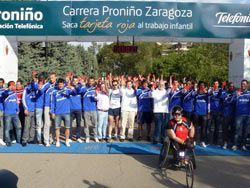 Más de 2.100 personas corren en Zaragoza contra la explotación infantil