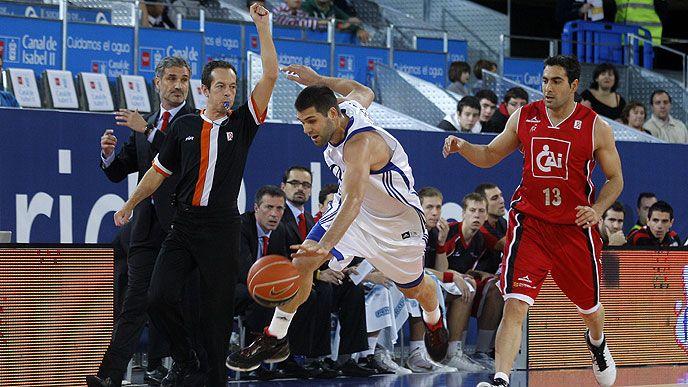 El Real Madrid, colider de la liga ACB, visita al CAI Zaragoza este sábado