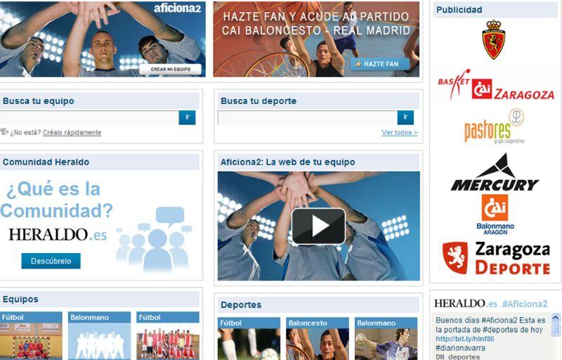 Más de 260 equipos ya forman parte de Aficiona2, la comunidad deportiva de Heraldo
