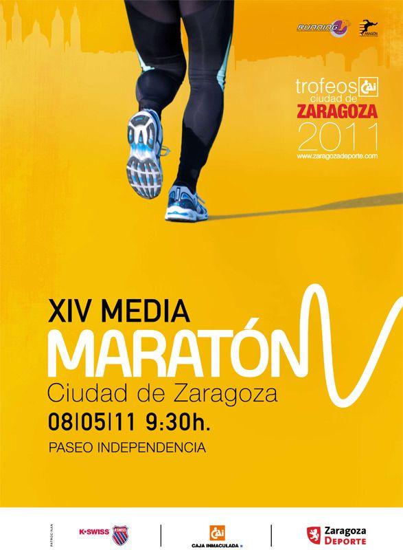 Última semana para inscribirse en la XIV Media Maratón «Trofeo CAI-Ciudad de Zaragoza»