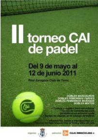 II Torneo CAI de Pádel