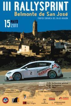 Doble cita automovilística en tierras turolenses con el Autocross de Monreal del Campo y el Rallysprint de Belmonte de San José