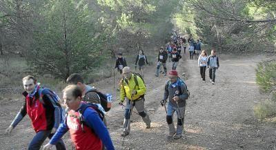 Pasión colectiva por las caminatas