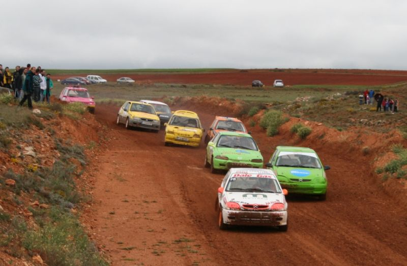 Arco y Julián vencedores en el Autocross de Monreal del Campo y Aso y Villaro en el Rallysprint de Belmonte de San José
