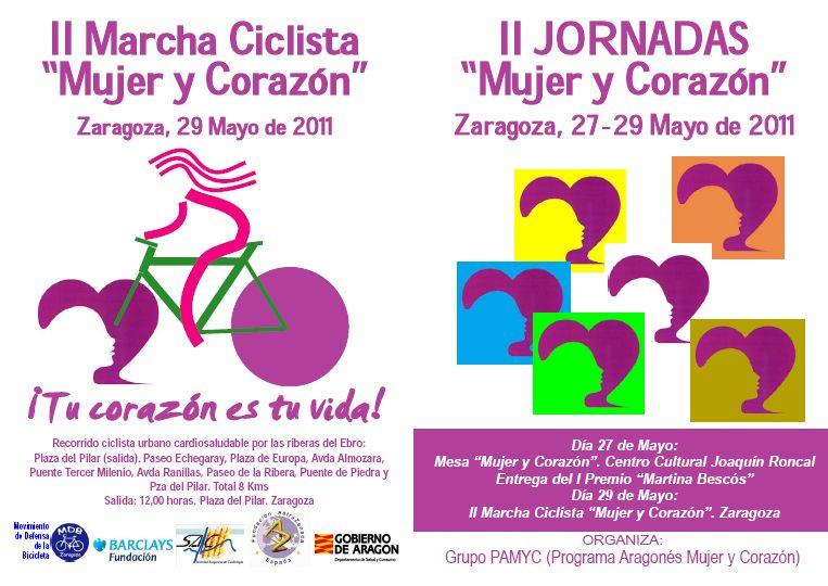 II Jornadas «Mujer y Corazón», hoy en Zaragoza