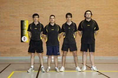 Alfonso Beamonte se proclama campeón de Aragón absoluto de Tenis de Mesa