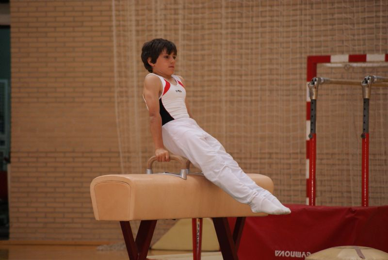 Un centenar de gimnastas en Torneo Flip Flap de Gimnasia Artística