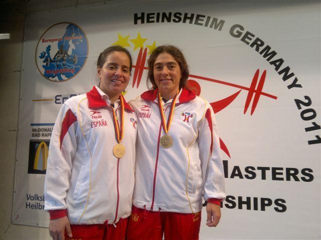 Dos oros para el C. N. Helios en el Campeonato de Europa Máster de Halterofília
