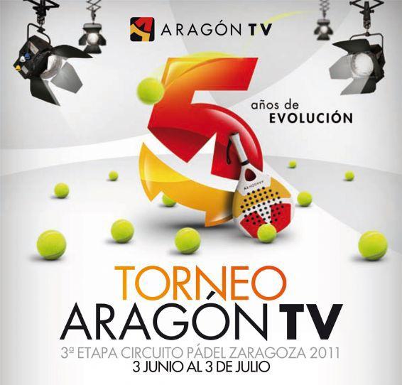 Continúa la 3ª Etapa del Circuito Padel ZGZ – Torneo ARAGÓN TV