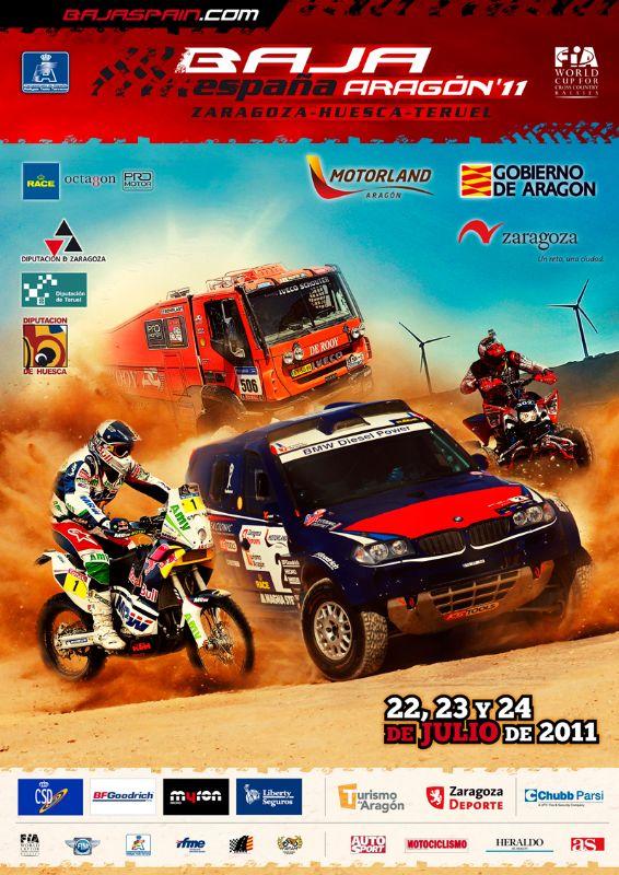 La Baja España-Aragón 2011 contará con numerosos pilotos de renombre nacional e internacional
