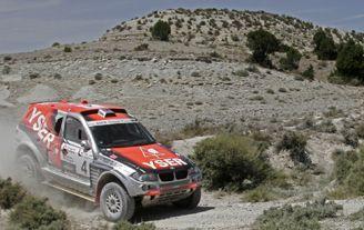 Filipe Campos en coches y Gerard Farrés en motos se adjudican la Baja España-Aragón