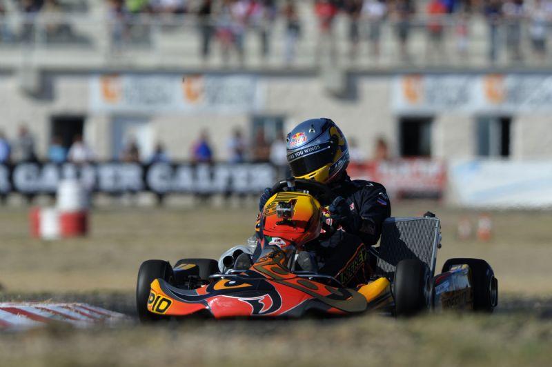 El «Trofeo Internacional CAI-Ciudad de Zaragoza» de karting, para el británico Alexander Albon