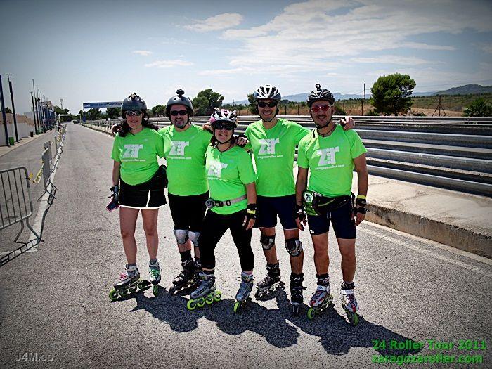 Participación de ZaragozaRoller en las 24 Roller Tour
