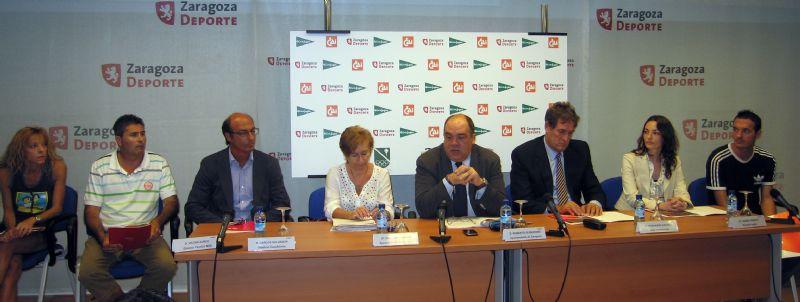 Presentación de la XXVIII Milla Urbana de Delicias Trofeo «CAI-Ciudad de Zaragoza»
