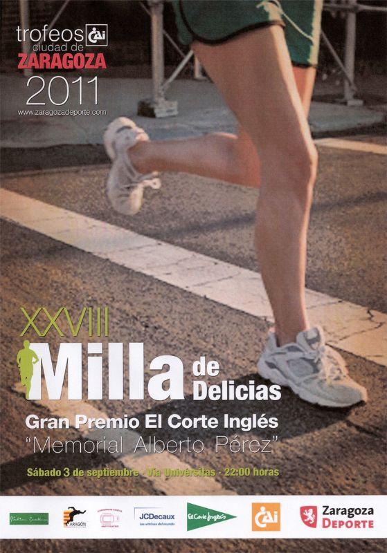 Resultados de la XXVIII Milla Urbana de Delicias, Trofeo «CAI-Ciudad de Zaragoza»