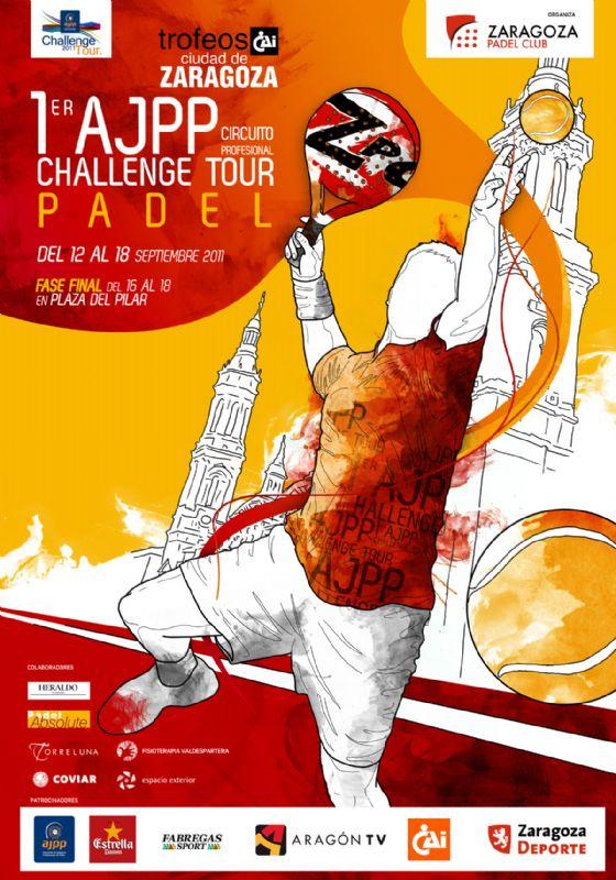 El lunes 12 de septiembre arranca el Trofeo «CAI-Ciudad de Zaragoza» de Pádel - AJPP Challenge Tour