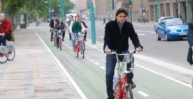 Zaragoza estrenará 11,2 kilómetros de carril bici en el 2009