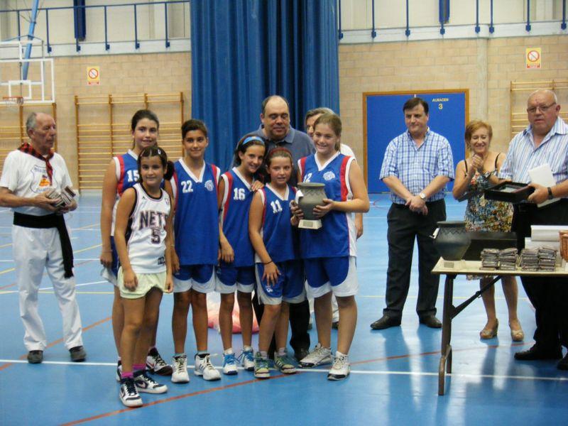 Celebrado el XX Trofeo Fernando Arcega de baloncesto, dentro de la programación de las Fiestas de Delicias 2011