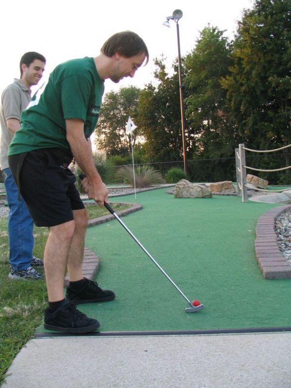 Golf para todos en la Plaza del Pilar este fin de semana