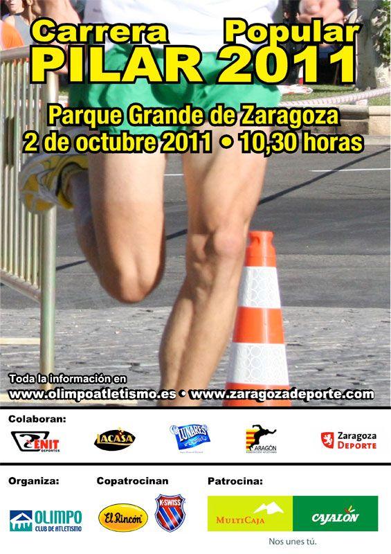 Ya están abiertas las inscripciones a la Carrera Popular Pilar 2011