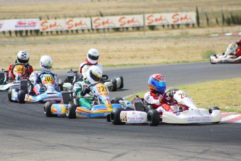 Animada jornada en el Circuito Internacional de Karting de Zuera