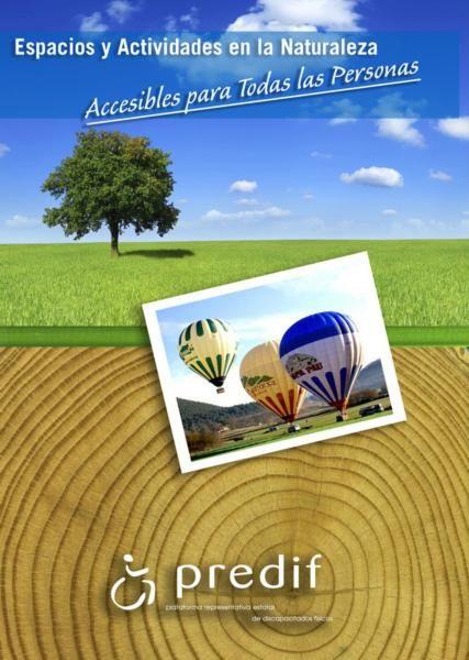 Una guía recoge más de 160 espacios y actividades en la naturaleza accesibles de toda España