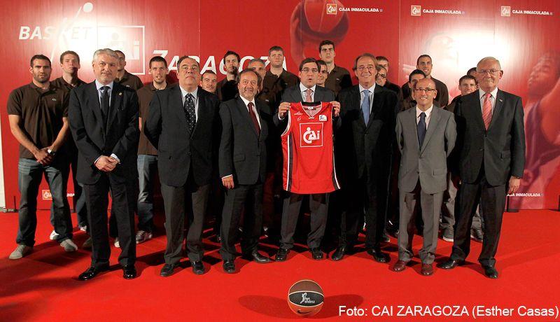 Presentación oficial del CAI Zaragoza 2011-2012