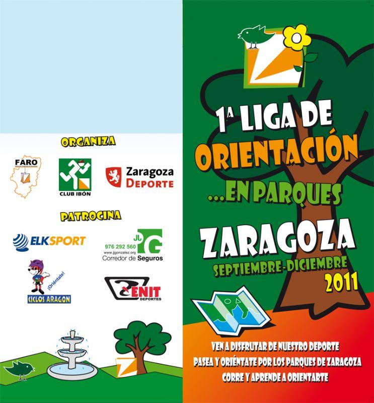 1ª Liga de orientación en parques de Zaragoza