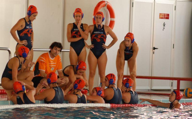 La Escuela de Waterpolo Zaragoza consigue el VIII Trofeo «CAI-Ciudad de Zaragoza» de Waterpolo Femenino