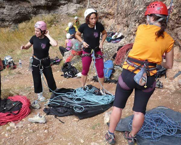 IV Encuentro Nacional de Escaladoras tendrá lugar en Torcas de Chodes-Morata de Jalón