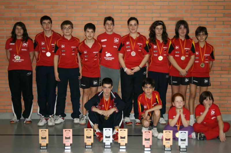 Caja Inmaculada renueva su apoyo a la Agrupación Deportiva Santiago Tenis de Mesa
