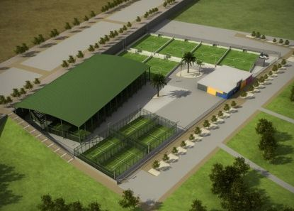 «Soccerworld Zaragoza» abrirá 6 campos de fútbol5 con césped artificial y 12 pistas de pádel