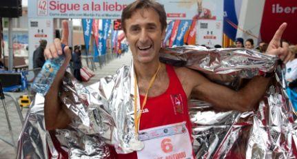 José Antonio Casajús y Estela San Pedro vencen en el V Maratón de Zaragoza