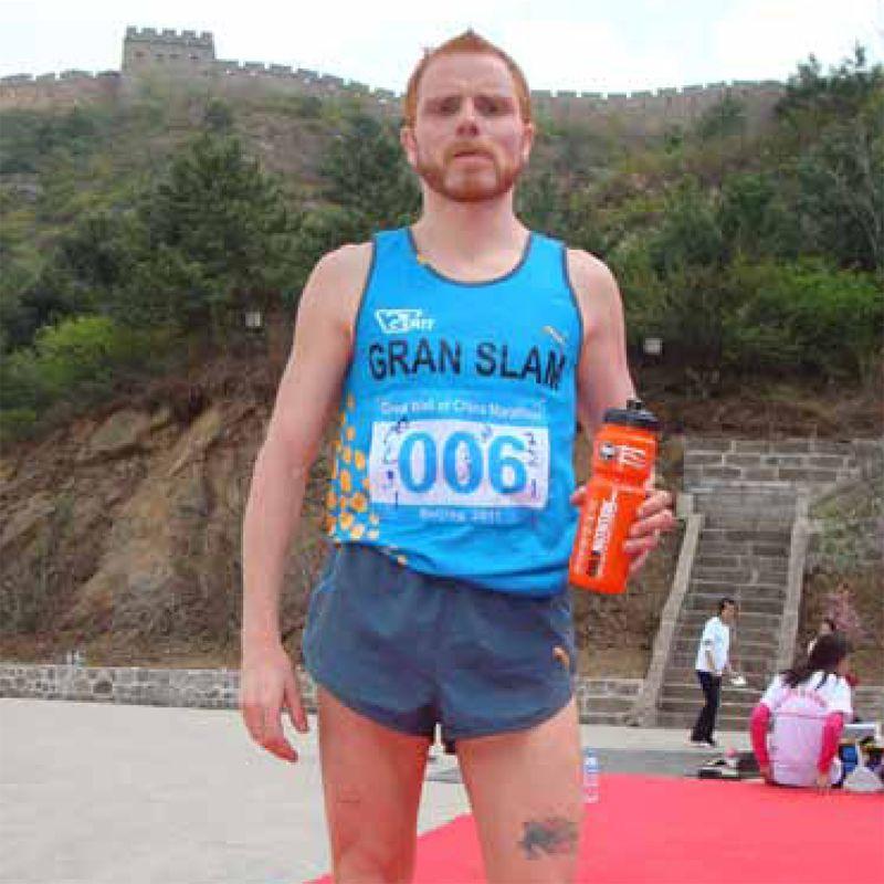 El atleta Iván Ramírez Bator pretende completar el «Gran Slam Marathon» corriendo en los 5 continentes