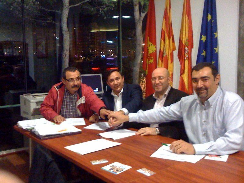 El equipo de Fútbol Sala Umacón Zaragoza y el Club Náutico de Zaragoza firman un convenio de colaboración