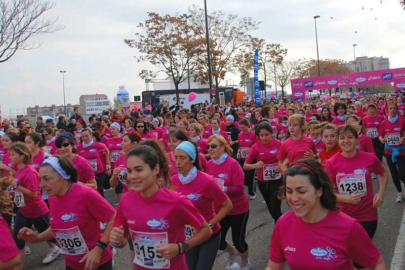 Clasificaciones, fotos, diplomas y videos de la «XIV Carrera de la Mujer» de Zaragoza