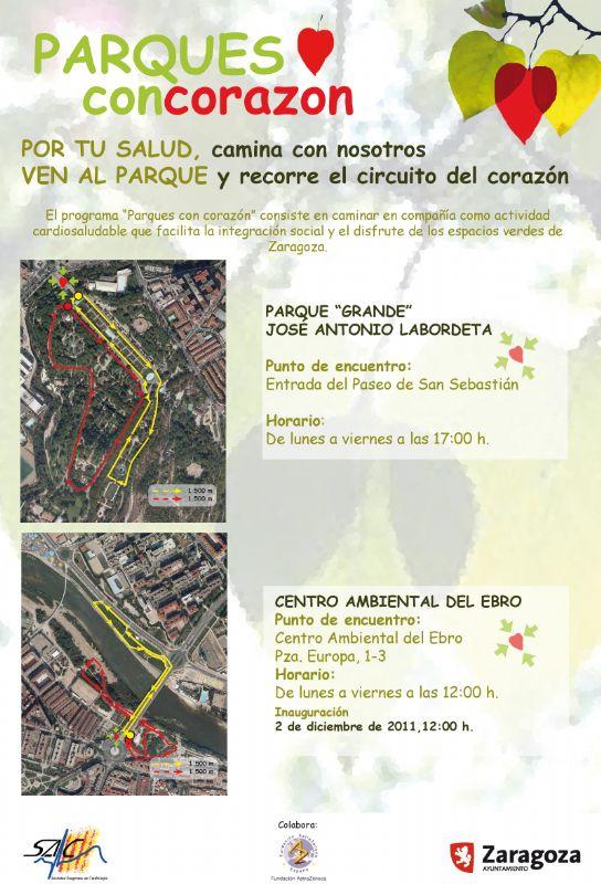 El viernes 2 de diciembre se inaugura un nuevo recorrido del «Circuito del Corazón» en el Centro Ambiental del Ebro