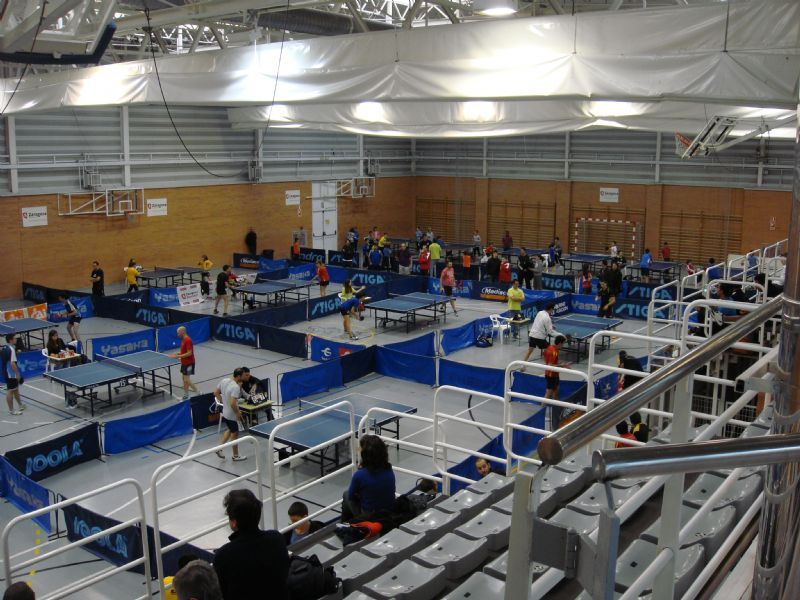 El chileno Felipe Contreras se proclama campeón del Trofeo «CAI-Ciudad de Zaragoza» de Tenis de Mesa