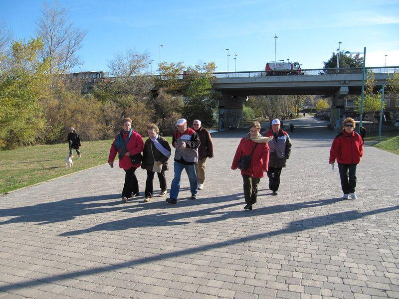 Los «paseos con corazón» llegan a La Almozara y el Actur
