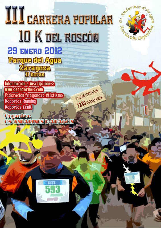 Las inscripciones para la Carrera Popular «10k del Roscón» se han cerrado al superarse el cupo de participantes