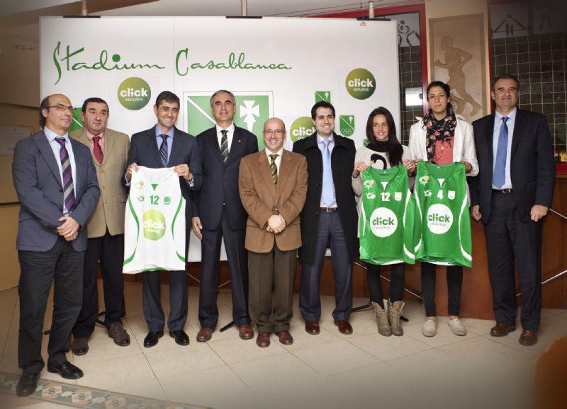 «ClickSeguros Casablanca» es el nuevo nombre del equipo de nuestra ciudad que milita en la Liga Femenina 2 de baloncesto