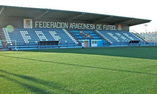 Los campos de la Federación Aragonesa de Fútbol estrenan nuevo aparcamiento