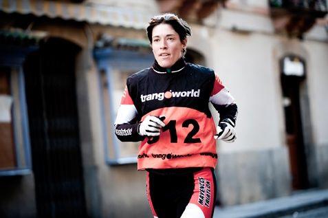 La aragonesa Yolanda Magallón se proclama campeona de España de Triatlón de Invierno