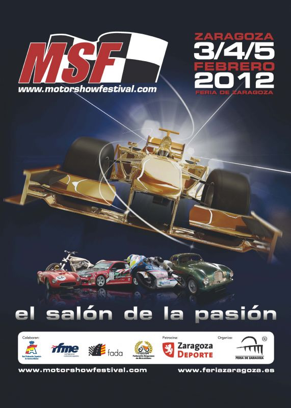 Nani Roma, la gran estrella de la inauguración de Motor Show Festival 2012
