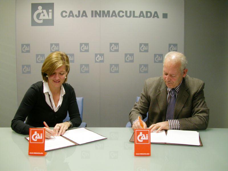 Caja Inmaculada renueva su apoyo al CAI Club Ciclista Aragonés