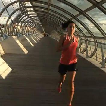 Adidas ha rodado en Aragón su nuevo anuncio «Adidas Running Is All In», con la colaboración de conocidos atletas locales