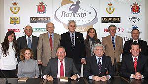 Presentado el «Banesto Premium Tour 2012» que visitará el Club de Golf La Peñaza por segunda vez