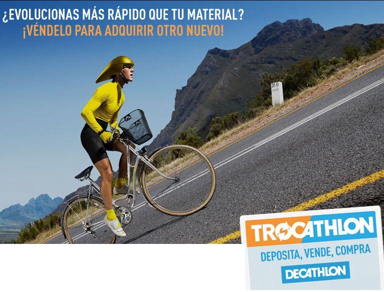 Trocathlon: ¿Quieres vender tu viejo material deportivo? ¿Deseas ahorrar comprando material usado?