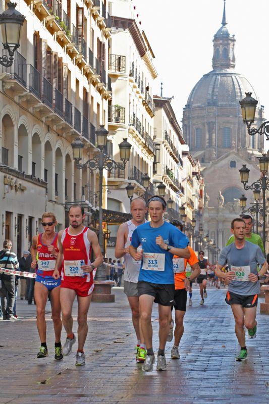 Nuevo recorrido para la XV Media Maratón de Zaragoza 2012