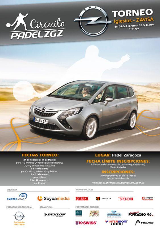Finales del «Torneo Opel Iglesias-ZAVISA» de Pádel